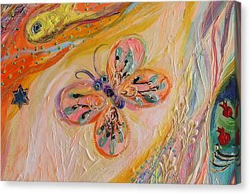 Artwork Fragment 84 Canvas Print