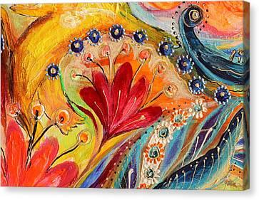 Giclee On Canvas Print - Artwork Fragment 86 by Elena Kotliarker