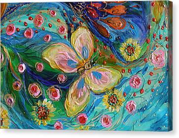 Giclee On Canvas Print - Artwork Fragment 95 by Elena Kotliarker