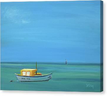 Aruba Canvas Print by Donna Tuten