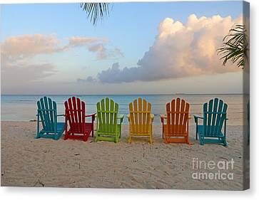 Aruba Sunrise 0746a Canvas Print