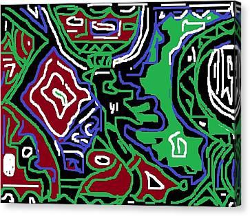 Arugba Canvas Print by Olubunmi Oluwadare
