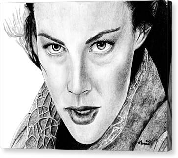 Arwen Undomiel Canvas Print by Kayleigh Semeniuk