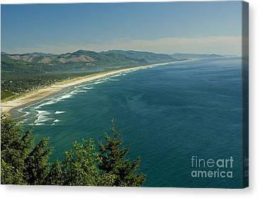 As Far As The Eye Can See Canvas Print by Nick  Boren