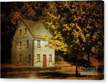 The White House Canvas Print - As The World Passes By by Lois Bryan