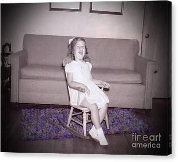 As This Little Child Canvas Print by Deborah Montana