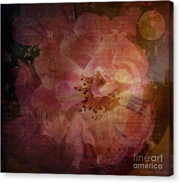 Melody Canvas Print - As Time Goes By by Lianne Schneider