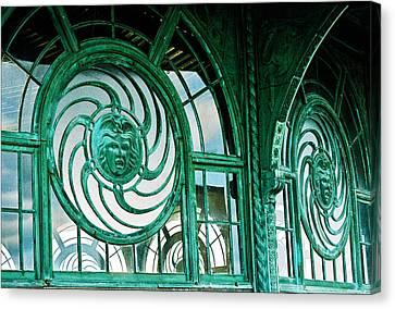 Asbury Carousel House Canvas Print