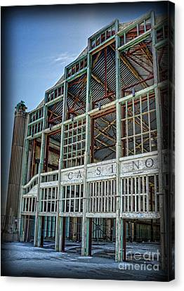 Asbury Park Casino And Carousel House Canvas Print by Lee Dos Santos
