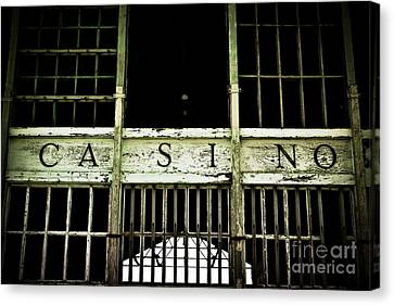Asbury Park Casino Canvas Print by Colleen Kammerer