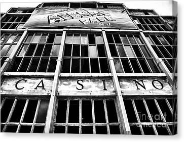 Asbury Park Casino Canvas Print - Asbury Park Casino by John Rizzuto