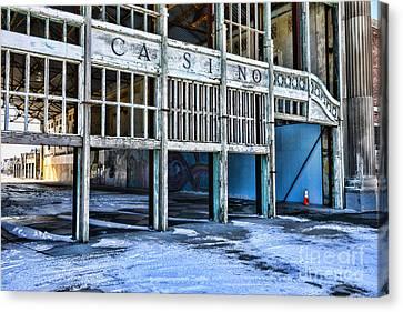 Asbury Park Casino Canvas Print - Asbury Park Nj Glory Days by Paul Ward