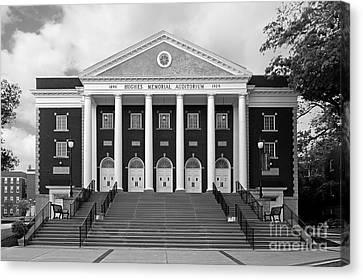 Asbury University Hughes Memorial Auditorium Canvas Print by University Icons