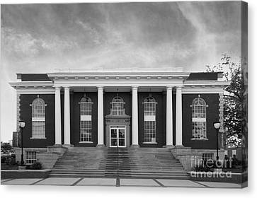 Asbury University Morrison Hall Canvas Print by University Icons
