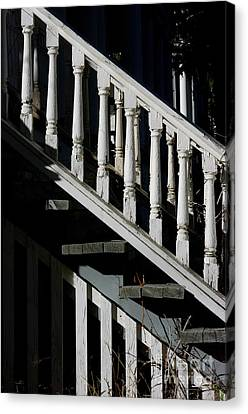 Ascending Into Another Time Canvas Print by Vicki Pelham