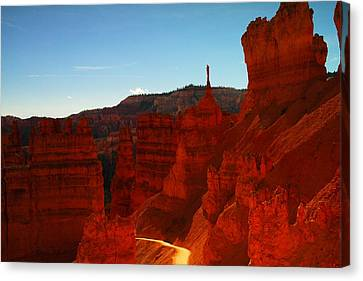 Ascending Out Of Bryce Canvas Print
