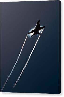 Ascending To The Heavens Canvas Print by John Daly