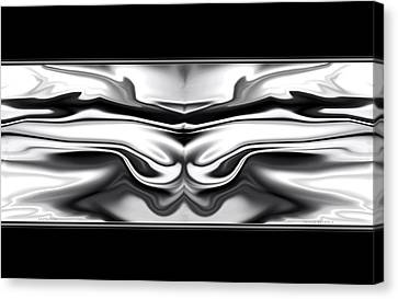 Ascension Angel Abstract Canvas Print by Denise Beverly