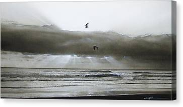 Water Scene Canvas Print - Ocean - ' Ascension II ' by Christian Chapman Art
