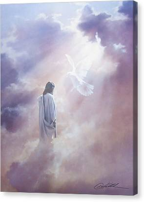 Ascension Canvas Print by Danny Hahlbohm