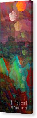 Ascention To Royalty Canvas Print by Deborah Montana