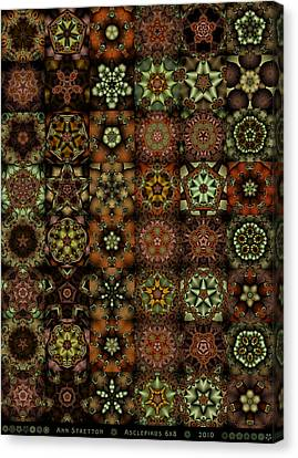 Asclepiads 6x8 Canvas Print