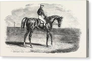Ascot Races Woolwich, The Winner Of The Emperors Vase Canvas Print