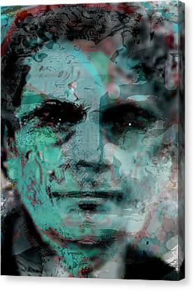 Asfacing2d Canvas Print