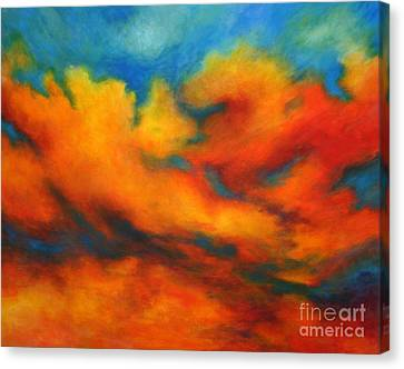 Ashes Within Canvas Print by Alison Caltrider