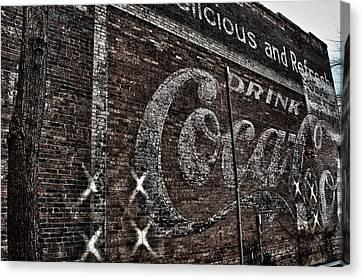 Asheville Coke Series 3 Canvas Print