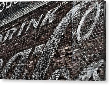 Asheville Coke Series 7 Canvas Print