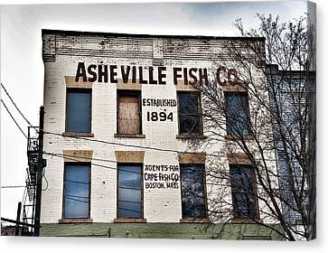 Asheville Fish Co Canvas Print
