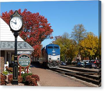 Ashland Train Depot Canvas Print