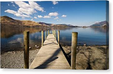 Ashness Jetty Canvas Print by Stephen Taylor