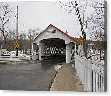 Ashuelot Bridge Canvas Print