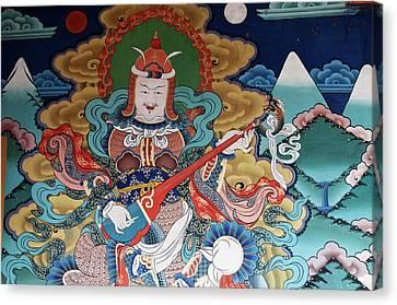 Asia, Bhutan, Punakha Canvas Print by Jaynes Gallery