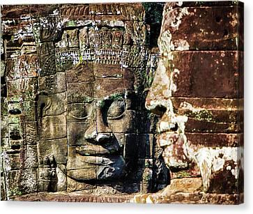 Angkor Thom Canvas Print - Asia, Cambodia, Angkor Watt, Siem Reap by Terry Eggers