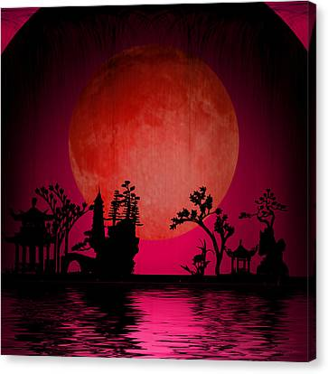 Asia Landscape  Canvas Print by Bruce Rolff
