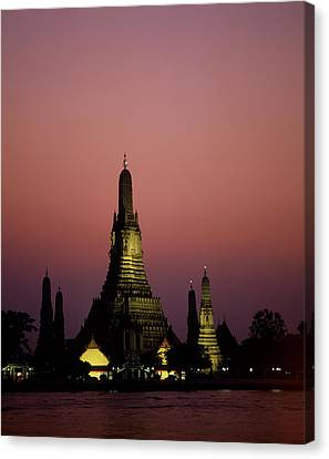 Openair Canvas Print - Asia, Thailand, Bangkok, Temple Wat by Tips Images