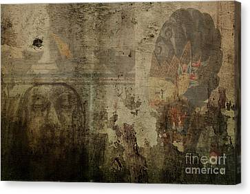 Asian Background Canvas Print