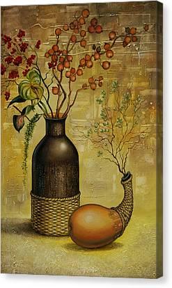 Asian Desert Canvas Print by Vrindavan Das