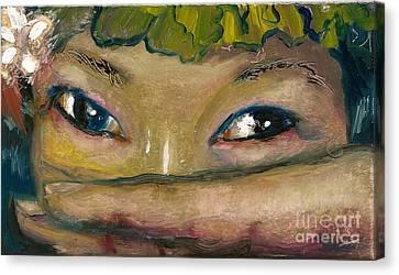 Canvas Print - Asian Eyes by Donna Chaasadah
