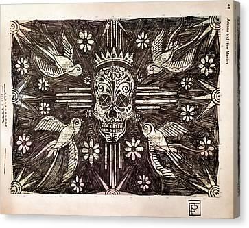 Ask The Dust Canvas Print by John Parish