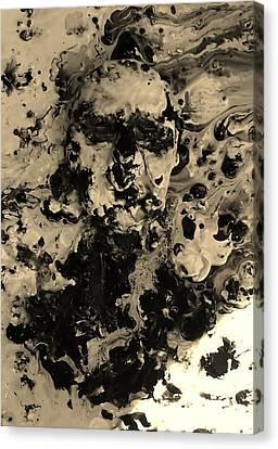 Asleep Canvas Print by David King