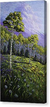 Aspen Blues Canvas Print
