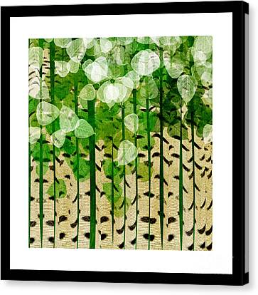 Aspen Colorado Abstract Square 2 Canvas Print by Andee Design