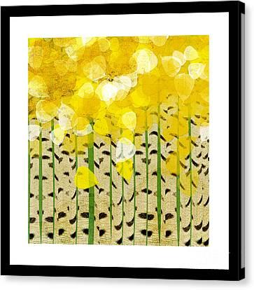 Aspen Colorado Abstract Square Canvas Print