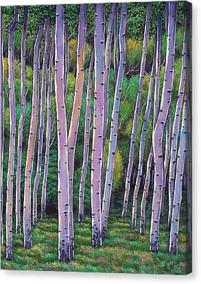 Taos Canvas Print - Aspen Enclave by Johnathan Harris