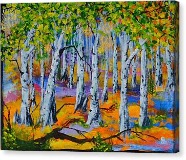 Aspen Friends In Walkerville Canvas Print