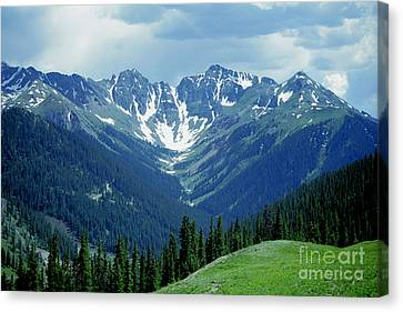 Aspen Mountain Canvas Print